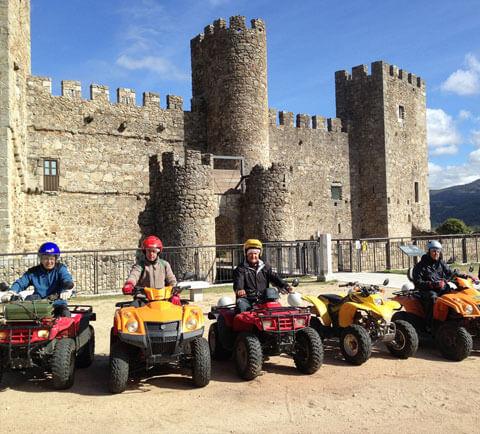 ruta en quad castillo salamanca